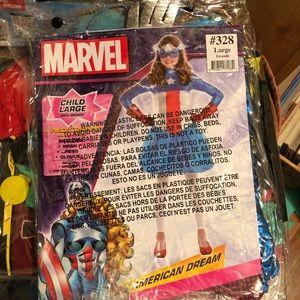 Captain America girl